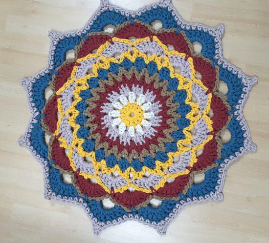 alfombra mandala cotton air 2al5 julio